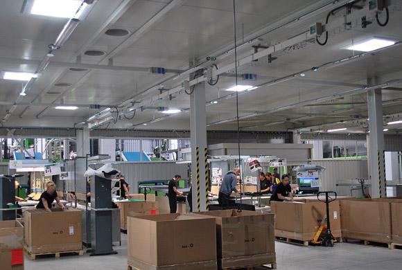 Svetlovod Sunway 780 pre výrobné priestory