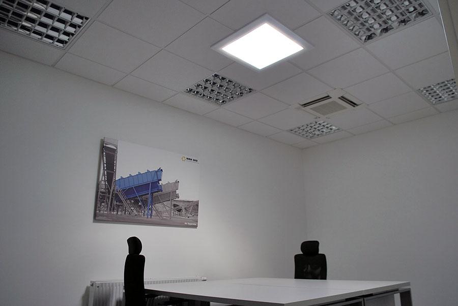 Presvetlenie priestorov NMH svetlovodmi Sunway