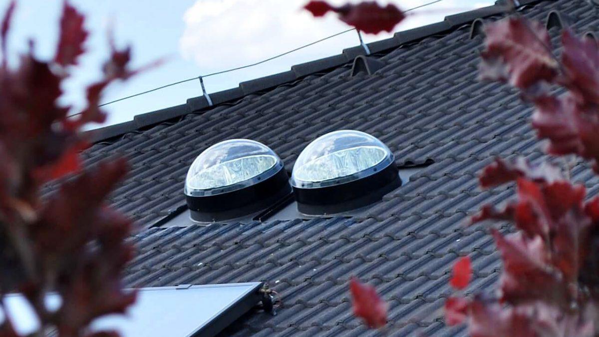 Presvetlenie rodinného domu svetlovodmi Sunway